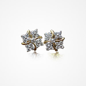 Diamond Earrings Samarth Jewellery